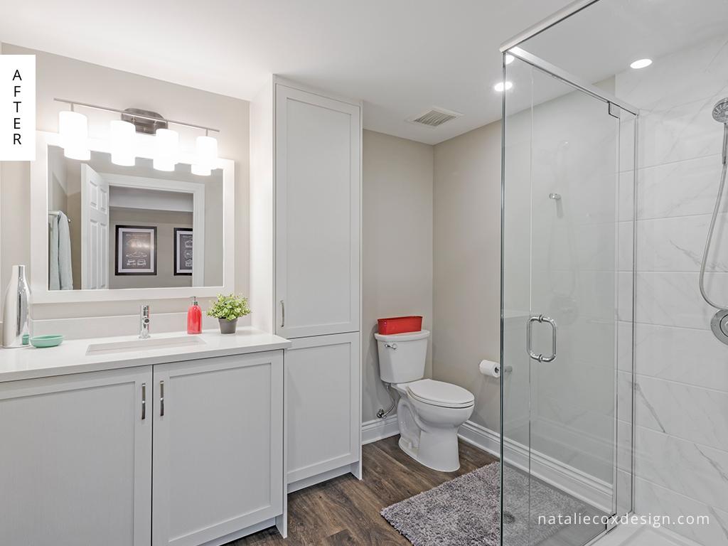 After 7 - Basement Renovation - Natalie Cox Design - Interior Decorator - Ottawa, ON