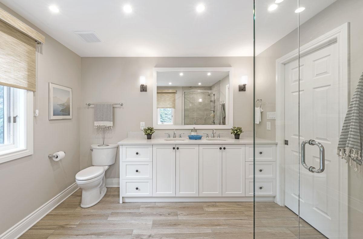Essential tips for updating your master bathroom - Natalie Cox Design - Ottawa Decorator - CPI Interiors